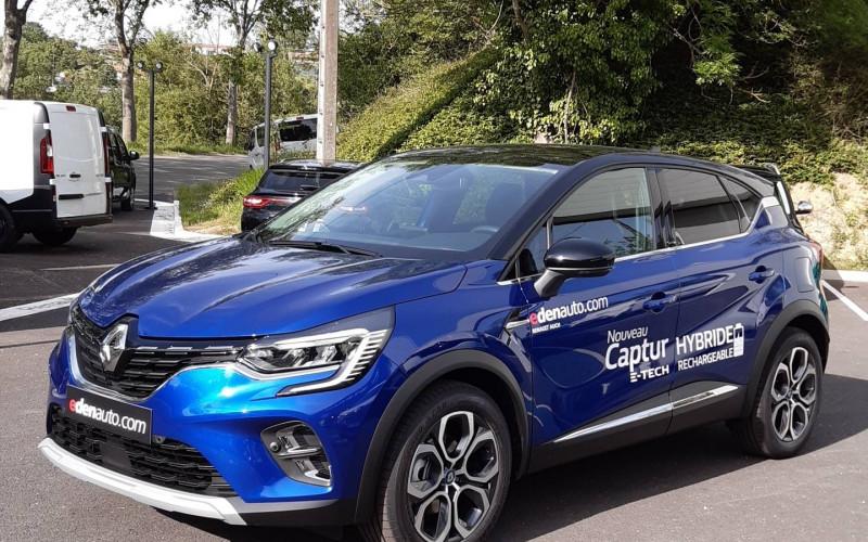 Renault Captur Captur E-Tech Plug-in 160 Intens 5p Bleu occasion à Auch - photo n°2
