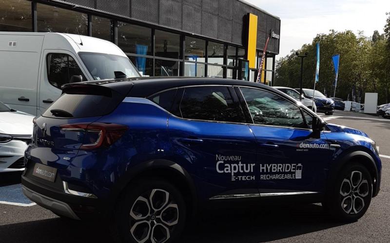 Renault Captur Captur E-Tech Plug-in 160 Intens 5p Bleu occasion à Auch - photo n°5