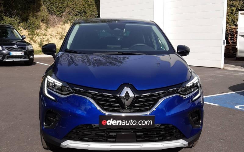 Renault Captur Captur E-Tech Plug-in 160 Intens 5p Bleu occasion à Auch