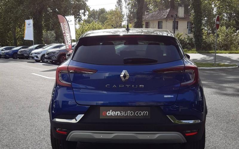 Renault Captur Captur E-Tech Plug-in 160 Intens 5p Bleu occasion à Auch - photo n°4