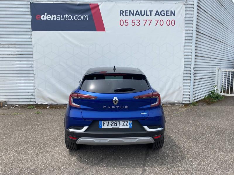Renault Captur Captur E-Tech Plug-in 160 Intens 5p Bleu occasion à Agen - photo n°4