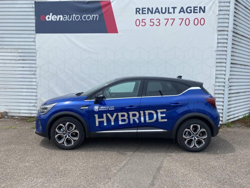 Renault Captur Captur E-Tech Plug-in 160 Intens 5p Bleu occasion à Agen - photo n°3
