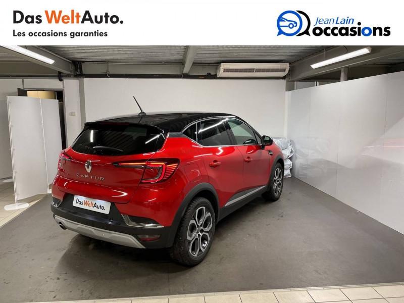 Renault Captur Captur TCe 100 Intens 5p Rouge occasion à La Motte-Servolex - photo n°5