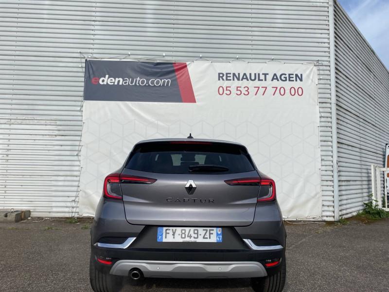 Renault Captur Captur TCe 130 EDC FAP Intens 5p Gris occasion à Agen - photo n°4