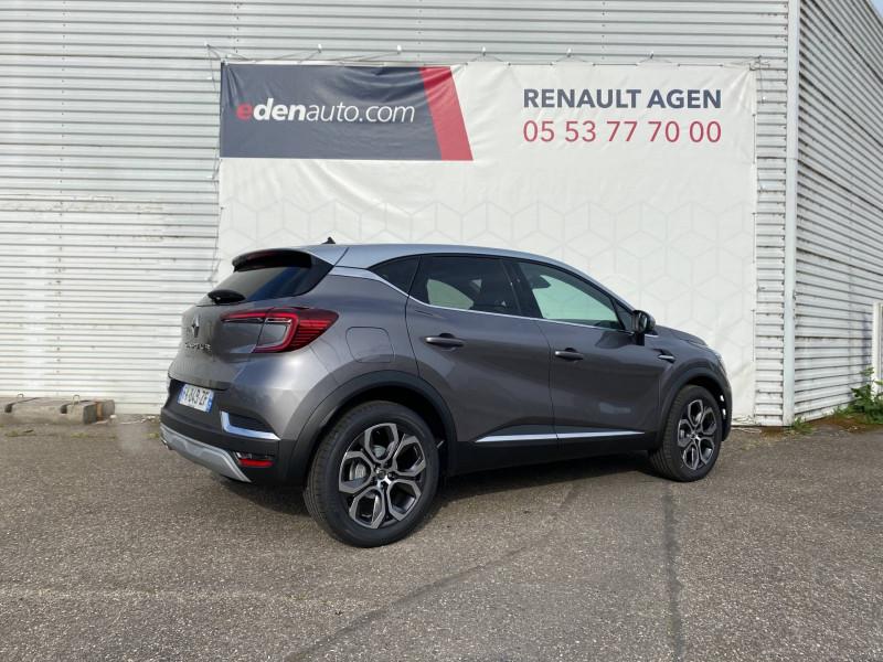 Renault Captur Captur TCe 130 EDC FAP Intens 5p Gris occasion à Agen - photo n°5