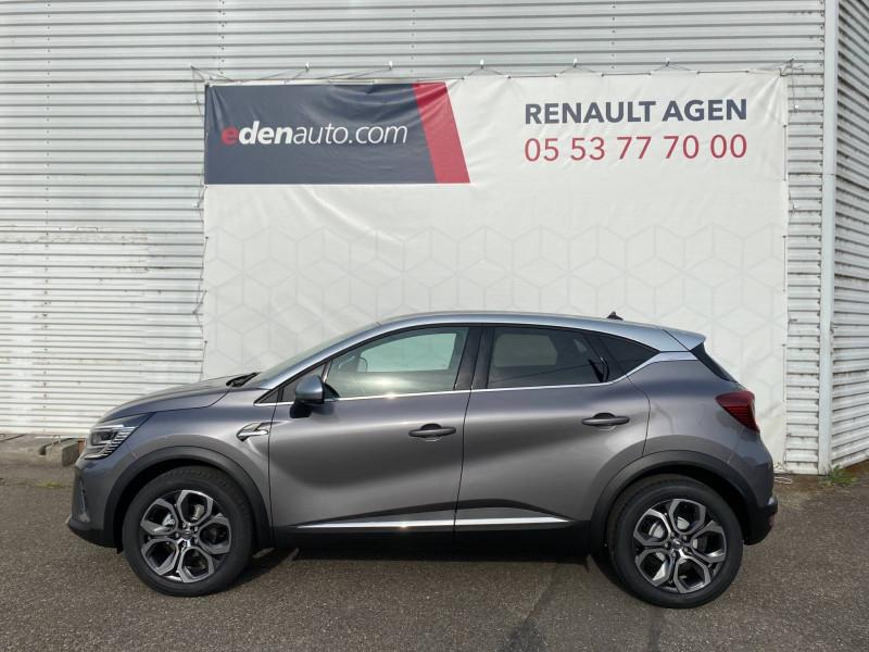 Renault Captur Captur TCe 130 EDC FAP Intens 5p Gris occasion à Agen - photo n°3