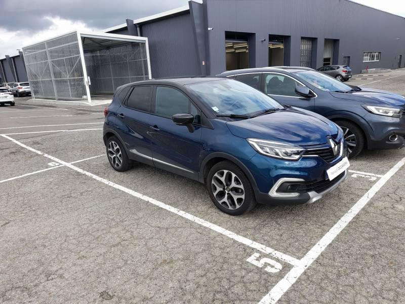 Renault Captur dCi 110 Energy Intens Bleu occasion à VANNES