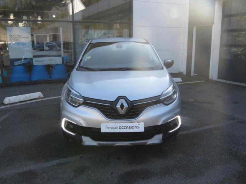 Renault Captur dCi 90 EDC Intens Gris occasion à CHATEAULIN - photo n°3