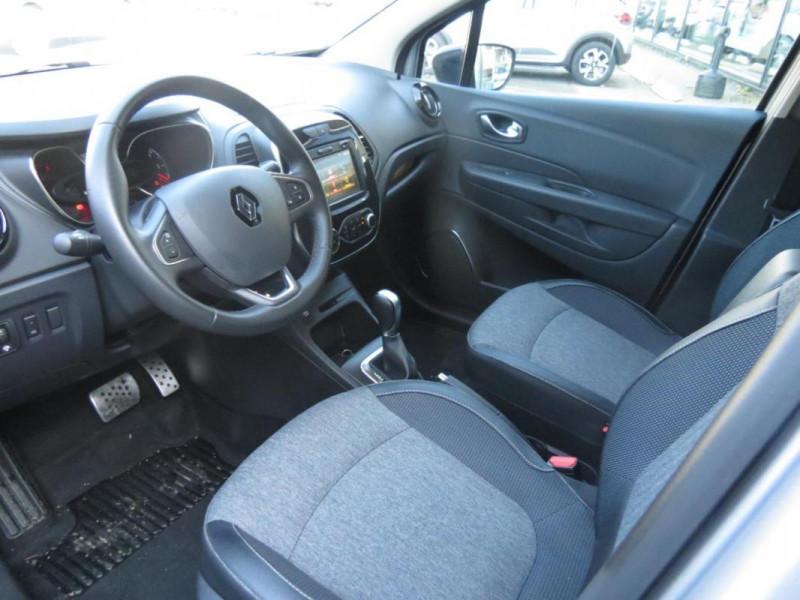 Renault Captur dCi 90 EDC Intens Gris occasion à CHATEAULIN - photo n°7