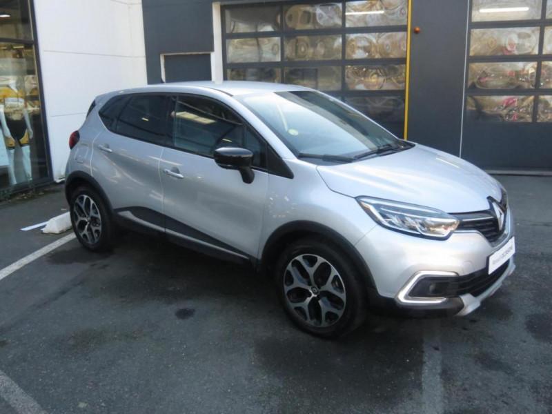 Renault Captur dCi 90 EDC Intens Gris occasion à CHATEAULIN - photo n°2