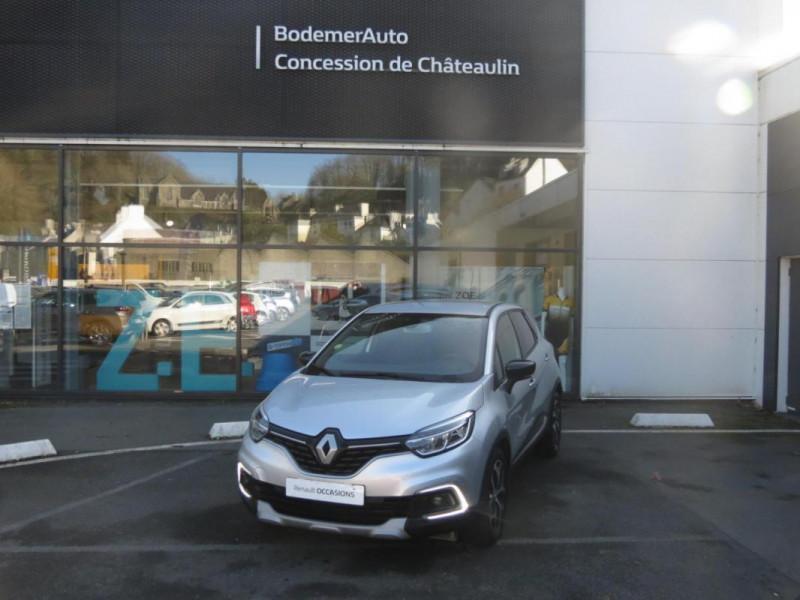 Renault Captur dCi 90 EDC Intens Gris occasion à CHATEAULIN