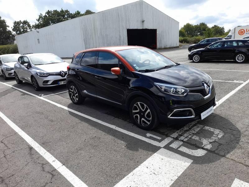 Renault Captur dCi 90 Energy eco² E6 Intens Noir occasion à SAINT-BRIEUC