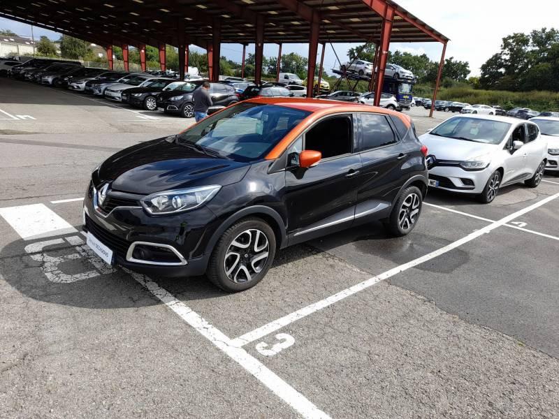 Renault Captur dCi 90 Energy eco² E6 Intens Noir occasion à SAINT-BRIEUC - photo n°2