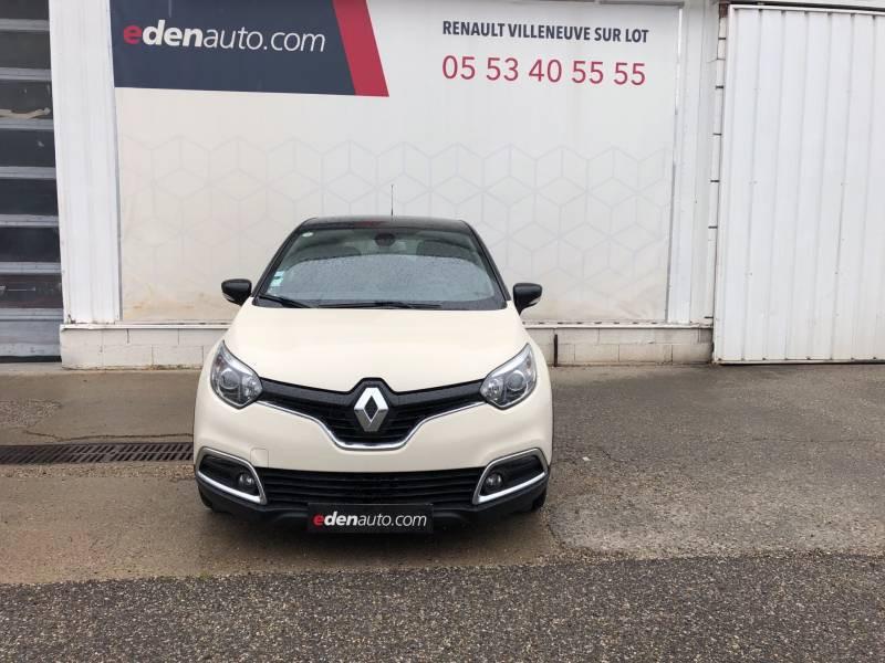 Renault Captur dCi 90 Energy eco² Intens Blanc occasion à Villeneuve-sur-Lot