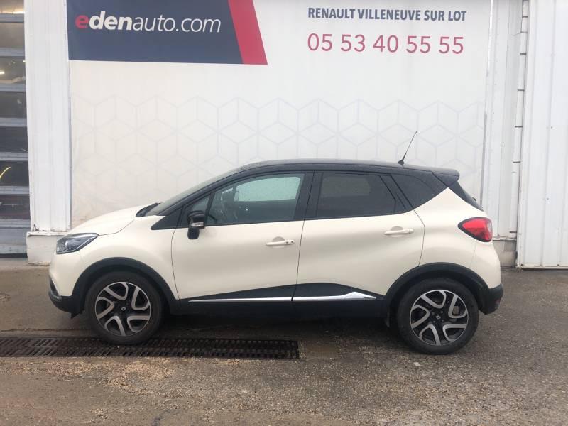 Renault Captur dCi 90 Energy eco² Intens Blanc occasion à Villeneuve-sur-Lot - photo n°3