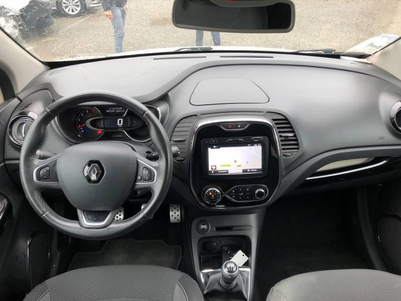 Renault Captur dCi 90 Energy eco² Intens Blanc occasion à Villeneuve-sur-Lot - photo n°8