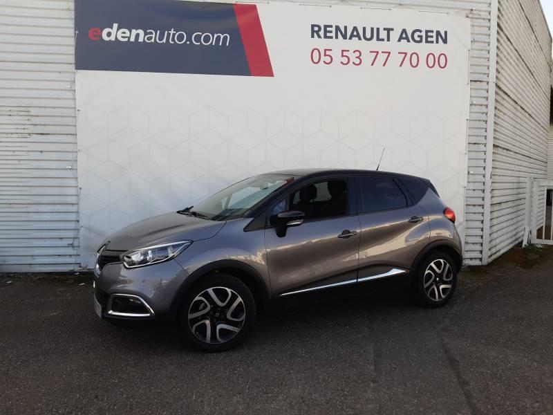 Renault Captur dCi 90 Energy eco² Intens Gris occasion à Agen