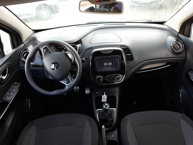 Renault Captur dCi 90 Energy eco² Intens Gris occasion à Agen - photo n°8