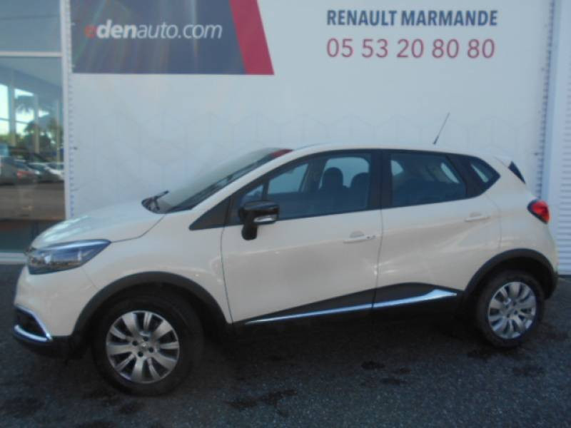 Renault Captur dCi 90 Energy eco² Zen Blanc occasion à Sainte-Bazeille