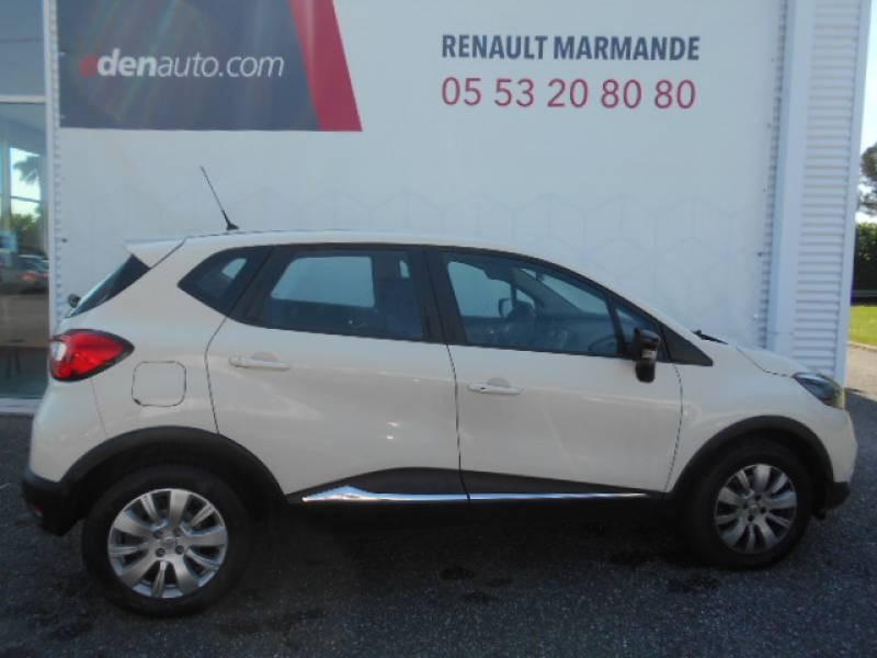 Renault Captur dCi 90 Energy eco² Zen Blanc occasion à Sainte-Bazeille - photo n°2