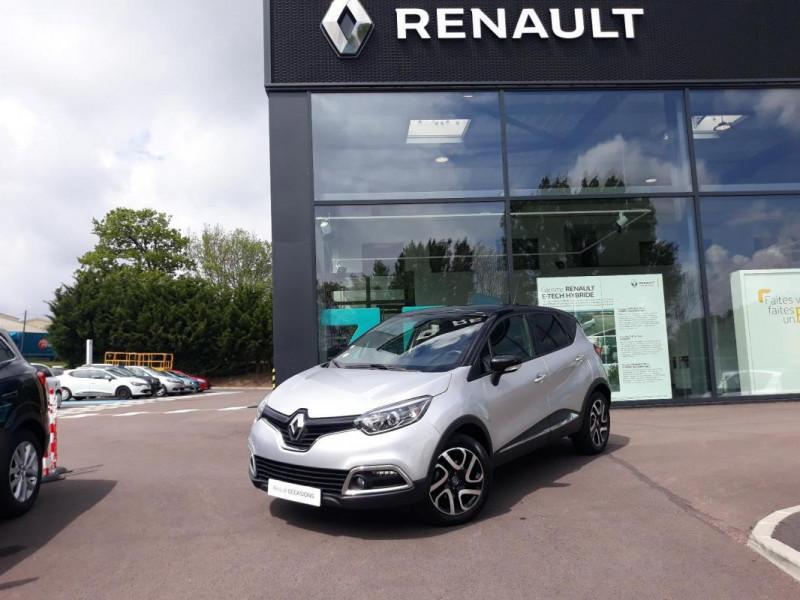 Renault Captur dCi 90 Energy ecoé Intens Gris occasion à COUTANCES