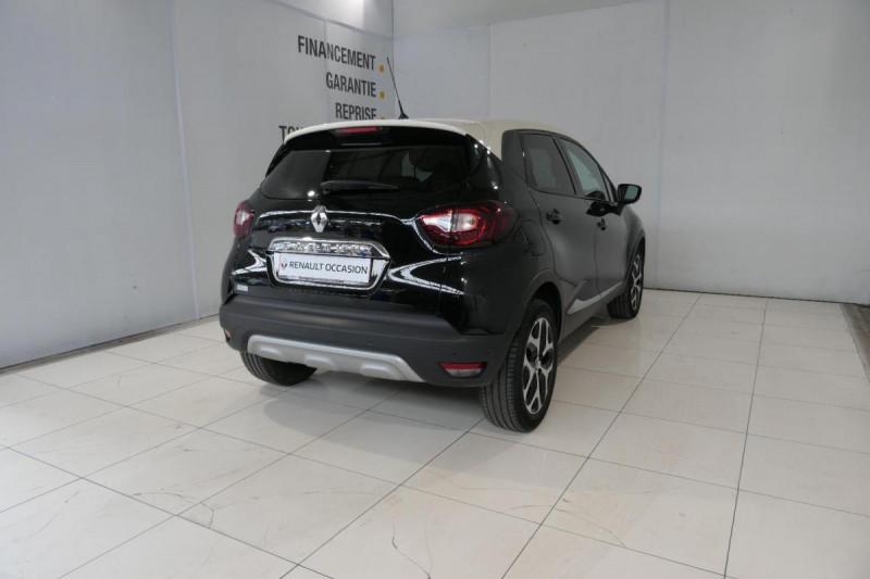 Renault Captur dCi 90 Energy EDC Intens Noir occasion à LANNION - photo n°3