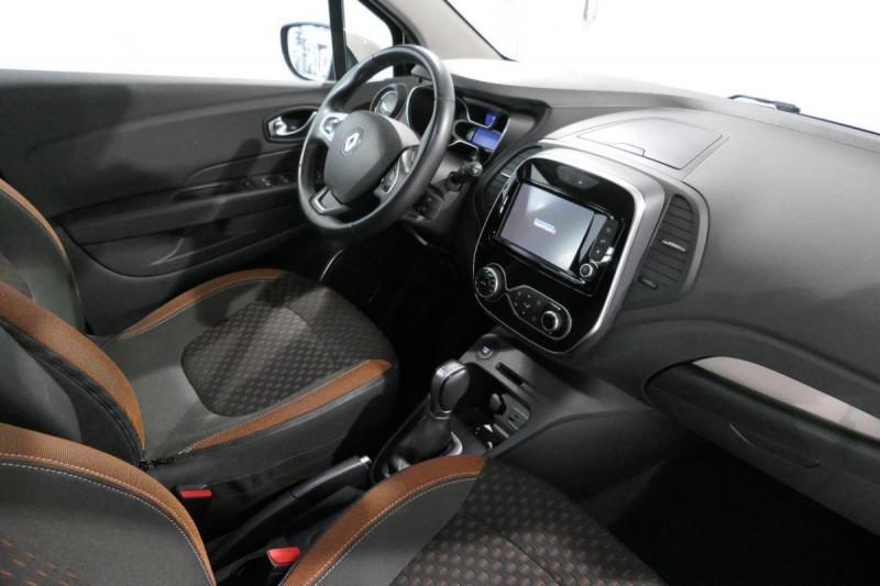Renault Captur dCi 90 Energy EDC Intens Noir occasion à LANNION - photo n°6