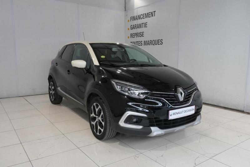 Renault Captur dCi 90 Energy EDC Intens Noir occasion à LANNION - photo n°2