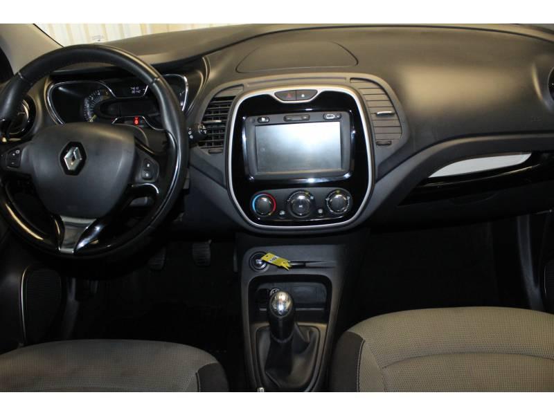 Renault Captur dCi 90 Energy S&S eco² Zen Gris occasion à TARBES - photo n°8