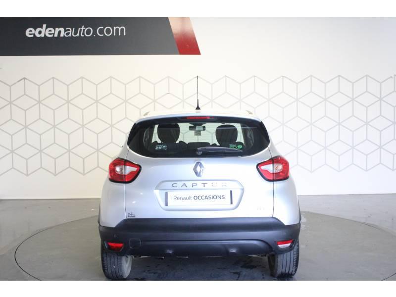 Renault Captur dCi 90 Energy S&S eco² Zen Gris occasion à TARBES - photo n°4