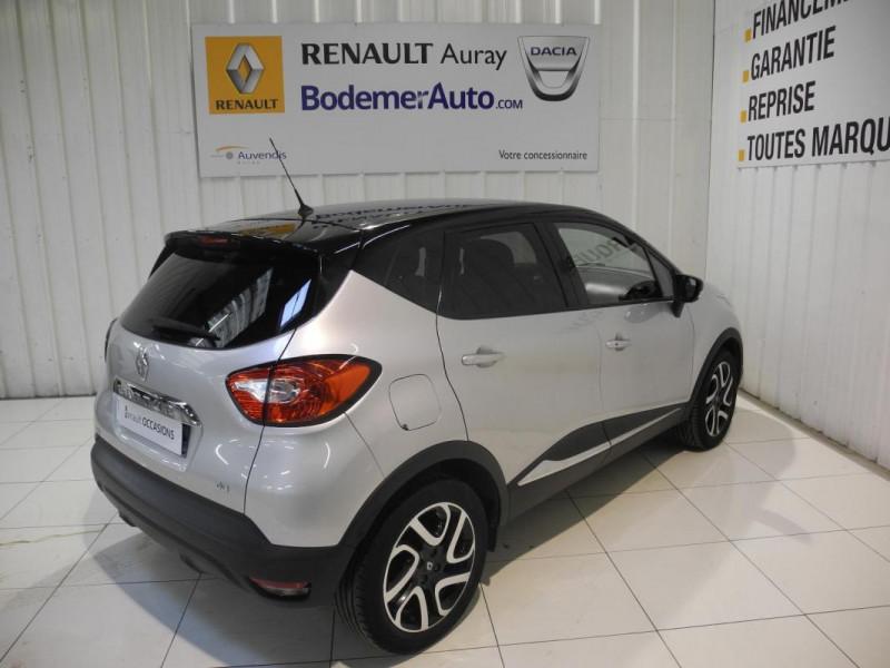 Renault Captur dCi 90 Energy S&S ecoé Intens Gris occasion à AURAY - photo n°3
