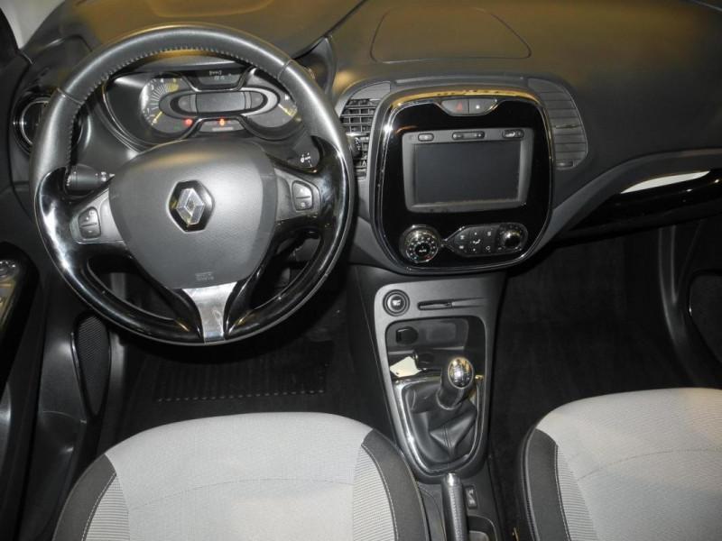 Renault Captur dCi 90 Energy S&S ecoé Intens Gris occasion à AURAY - photo n°5