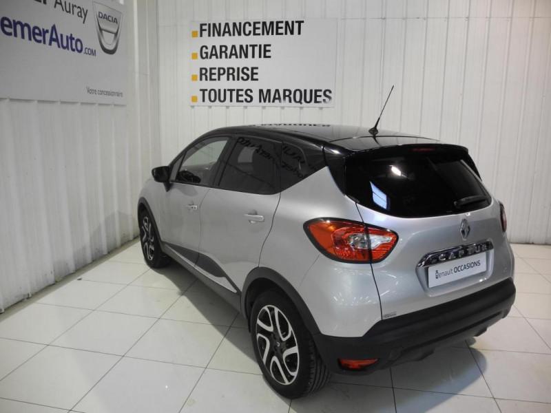 Renault Captur dCi 90 Energy S&S ecoé Intens Gris occasion à AURAY - photo n°4