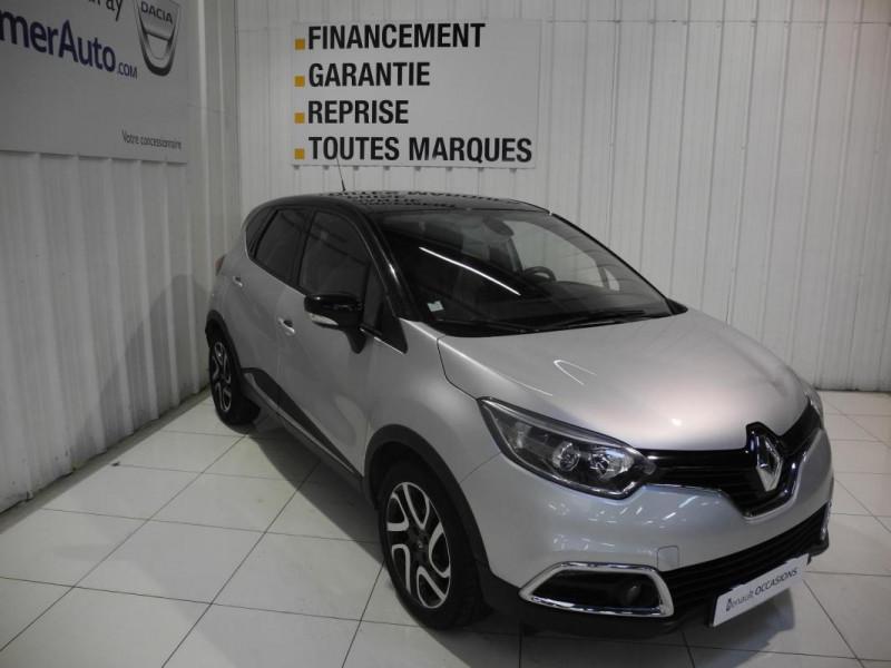 Renault Captur dCi 90 Energy S&S ecoé Intens Gris occasion à AURAY - photo n°2
