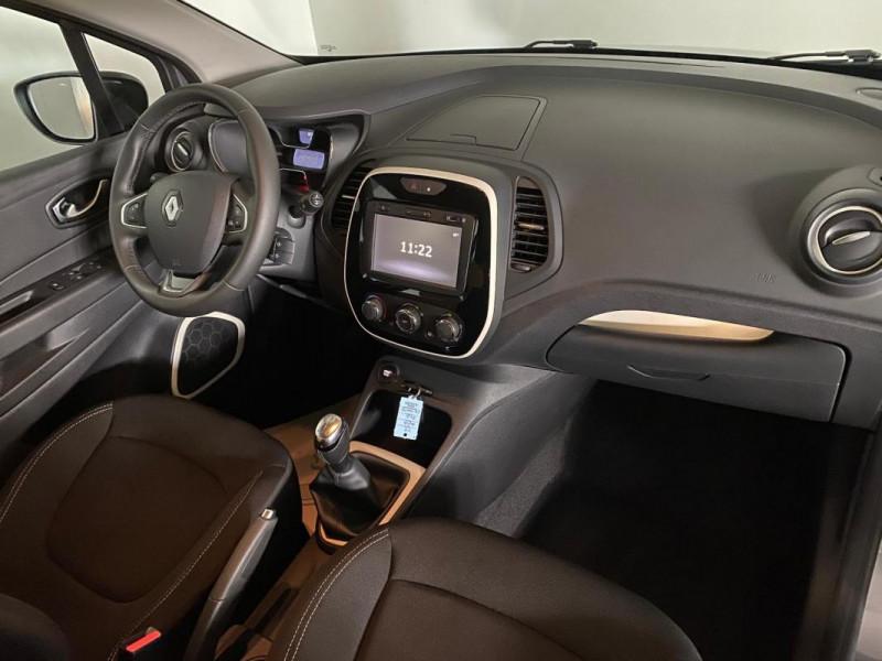 Renault Captur dCi 90 Energy Zen Gris occasion à FLERS - photo n°7