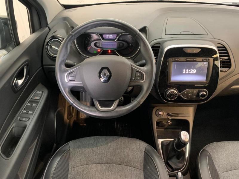 Renault Captur dCi 90 Intens Gris occasion à CONCARNEAU - photo n°4