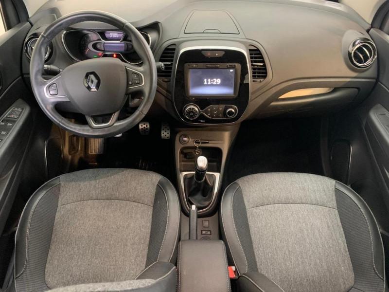 Renault Captur dCi 90 Intens Gris occasion à CONCARNEAU - photo n°10