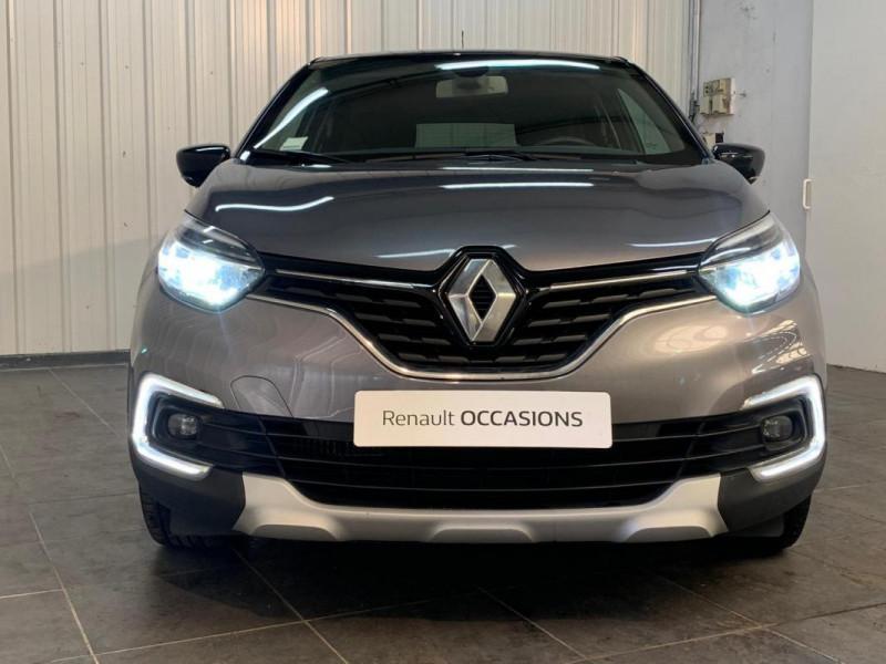 Renault Captur dCi 90 Intens Gris occasion à CONCARNEAU - photo n°11