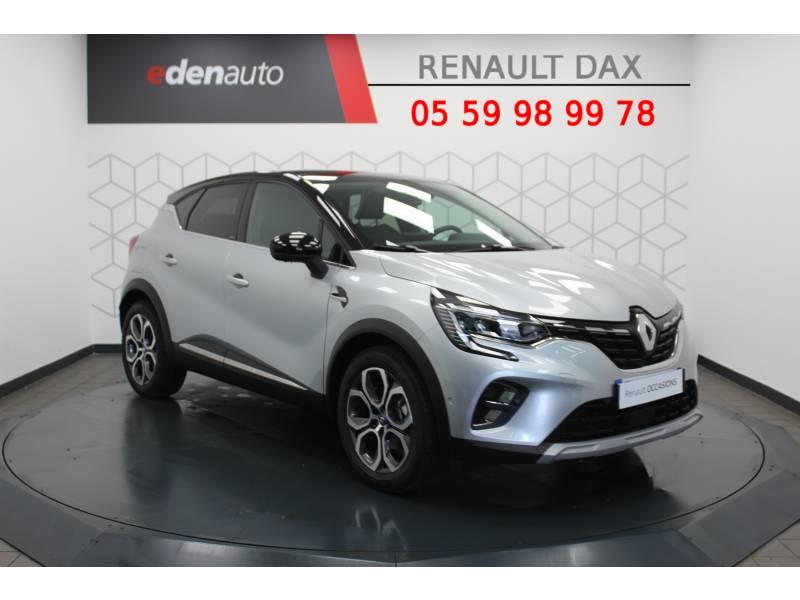 Renault Captur E-Tech Plug-in 160 Intens Gris occasion à DAX