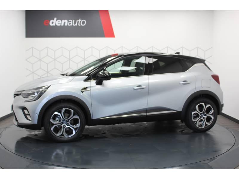 Renault Captur E-Tech Plug-in 160 Intens Gris occasion à DAX - photo n°19