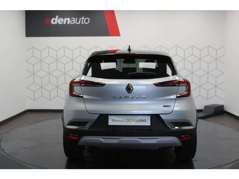 Renault Captur E-Tech Plug-in 160 Intens Gris occasion à DAX - photo n°14