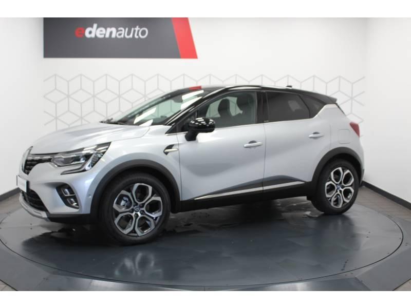 Renault Captur E-Tech Plug-in 160 Intens Gris occasion à DAX - photo n°20