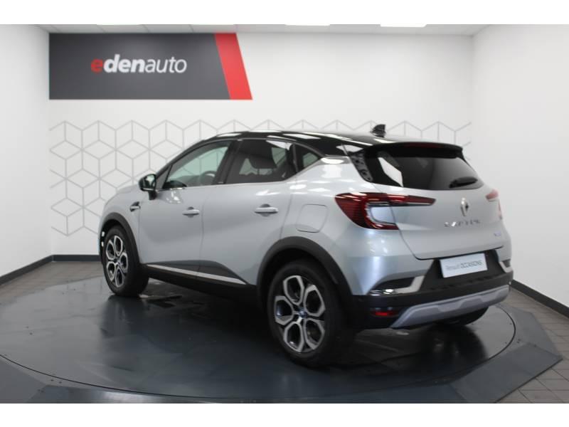 Renault Captur E-Tech Plug-in 160 Intens Gris occasion à DAX - photo n°15
