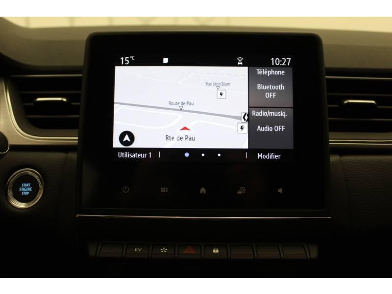 Renault Captur E-Tech Plug-in 160 Intens Orange occasion à Orthez - photo n°9