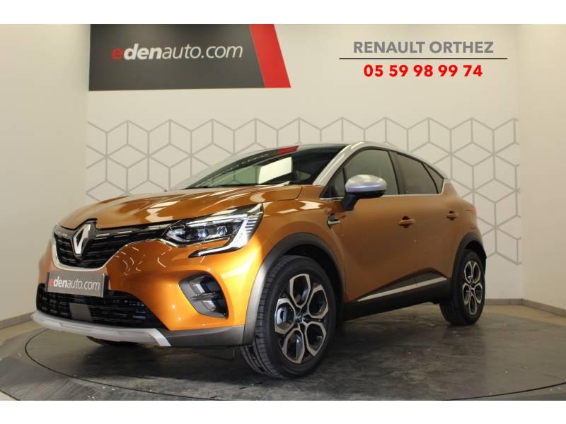 Renault Captur E-Tech Plug-in 160 Intens Orange occasion à Orthez
