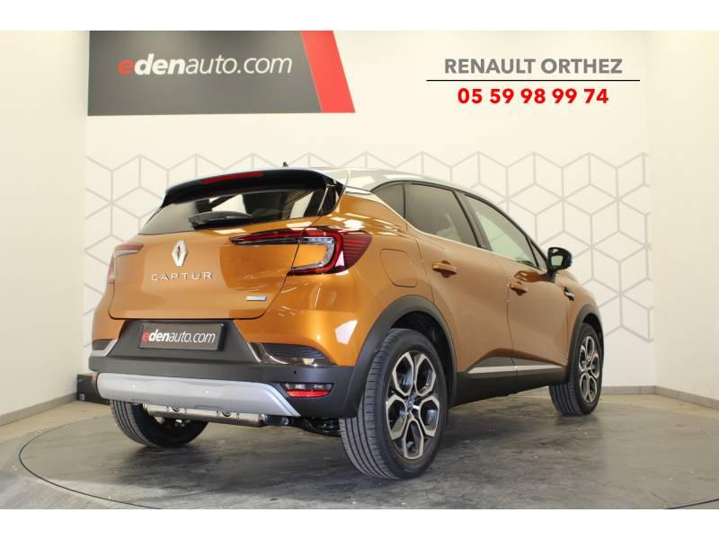 Renault Captur E-Tech Plug-in 160 Intens Orange occasion à Orthez - photo n°3