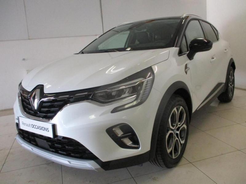 Renault Captur E-Tech Plug-in 160 Intens Blanc occasion à CHERBOURG-EN-COTENTIN