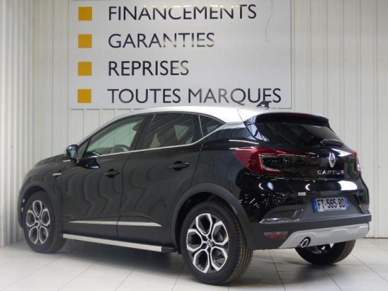 Renault Captur Intens Blue dCi 95 Noir occasion à MORLAIX - photo n°4