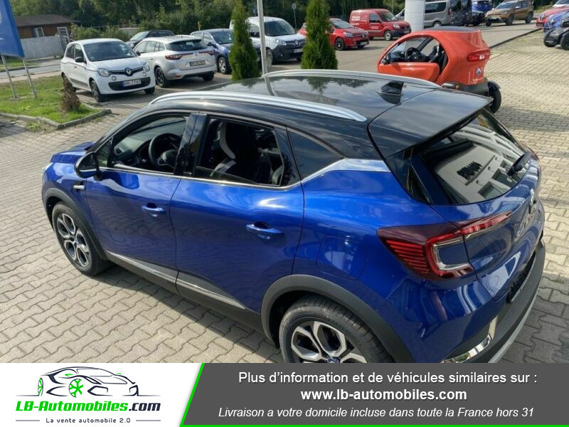Renault Captur Intens Hybrid plug-in 160 Blanc occasion à Beaupuy - photo n°3
