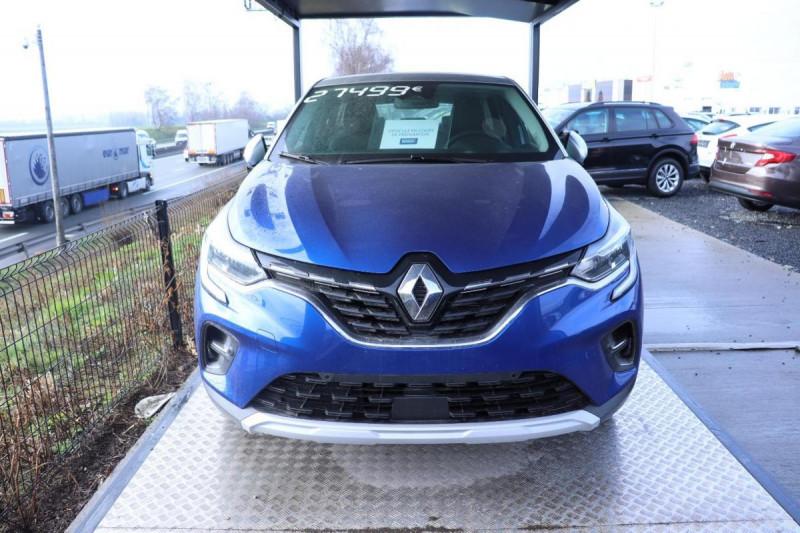 Renault Captur INTENS PLUG IN HYBRID E- TECH 160CH BVA Bleu occasion à Semécourt - photo n°2